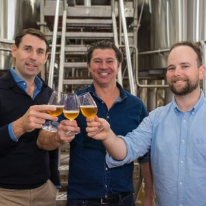 High flyers back $9 million brewery