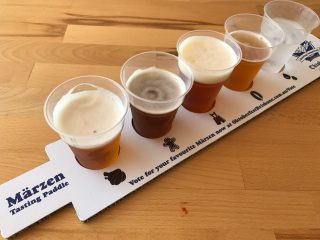 Bavarian Brewing Competition voting paddle