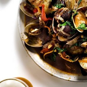 Beer and clams prove winning partners