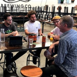 This week on Beer is a Conversation we join Matt King and Glenn Wignall of Sydney's The Grifter Brewing Company in their brewery bar in Enmore, Sydney.