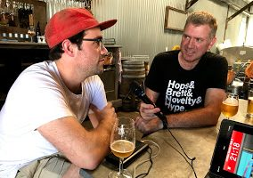 Topher Boehm from Wildflower Brewing and Blending