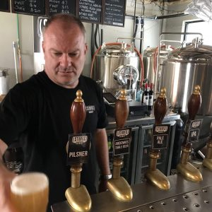 Steve Drissell at his Sydney Brewery