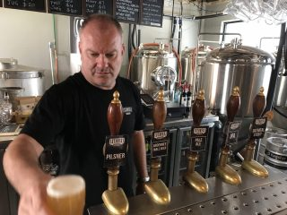 Steve Drissell at Staves Brewery in Glebe, Sydney
