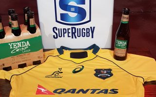Yenda has become the official beer of the Wallabies and Super Rugby