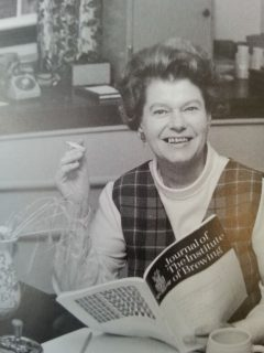 Anna Macleod was president of the IBD between 1970 and 1972