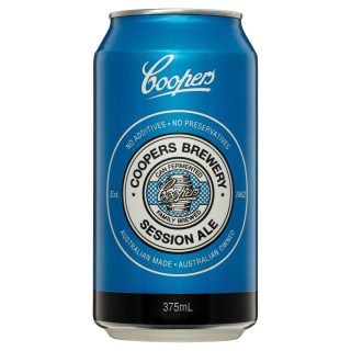 Coopers Session Ale can
