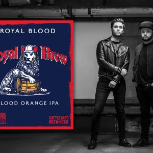 Capital Brewing collaborates with UK rock act Royal Blood