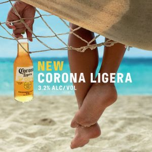 Corona launches mid-strength beer, Corona Ligera