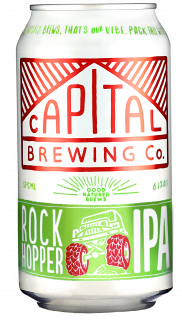 Capital Brewing Rock Hopper can