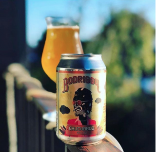 Bodriggy Brewing's Chuckaboo white IPA