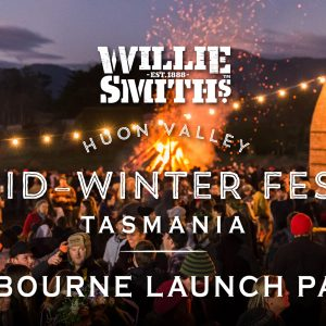 Willie Smith's mid-winter festival comes to Melbourne