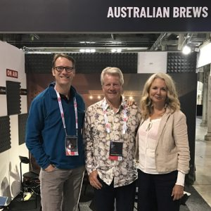 Matt Kirkegaard interviewed Dick Cantwell and Kim Jordan at BrewCon 2018