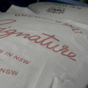 A bag of Signature Malt