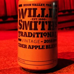 Willie Smith's Traditional Apple Cider can release