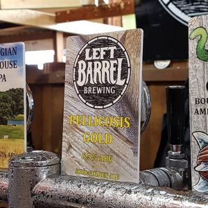 Left Barrel Brewing has opened its brewhouse and taproom