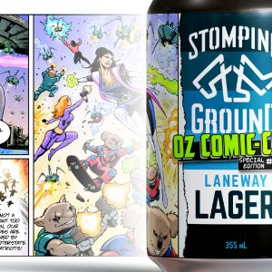 Stomping Ground and Oz Comic-Con collaboration series