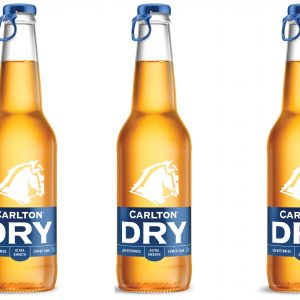 CUB announces new packaging for Carlton Dry
