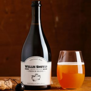 New heirloom apple cider release by Willie Smith's