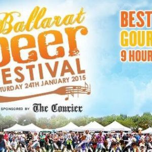 Ballarat Beer Festival Father's Day special