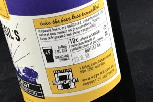 Beer labeling guidelines