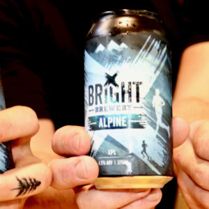 Bright Brewery Cans