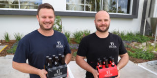 Brothers Craig and Lance Masterton from Heads of Noosa