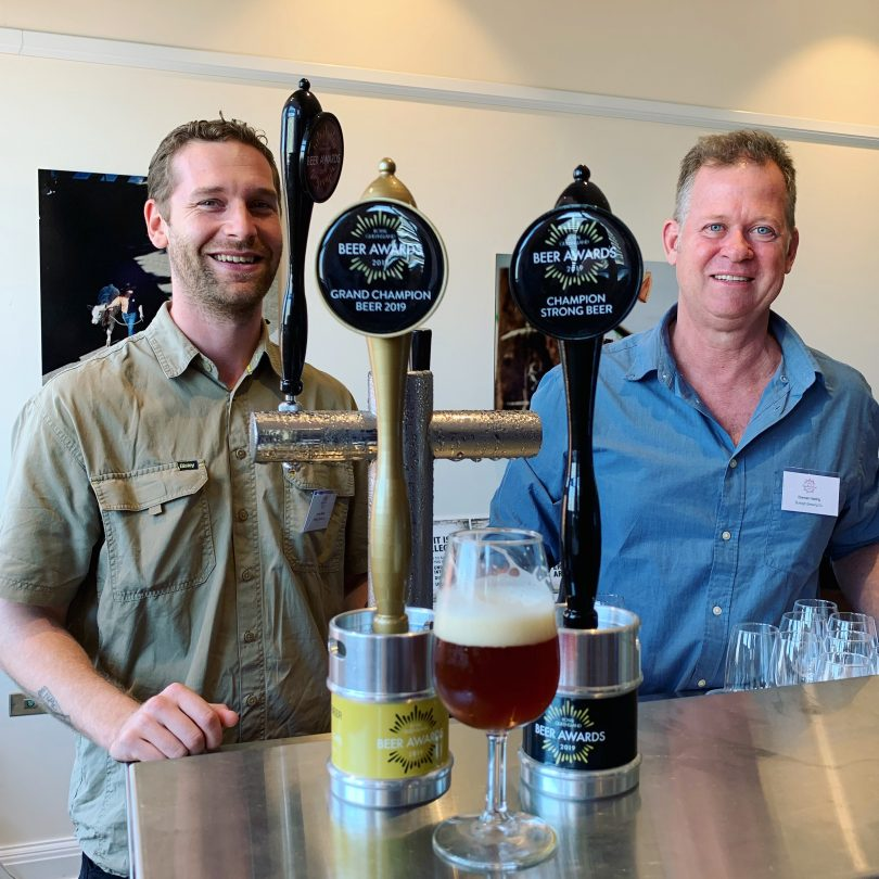 James-Beasley-and-Brennan-Fielding-from-Burleigh-Brewing