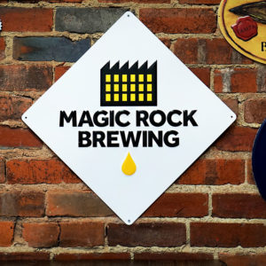 Magic Rock Brewery Wall