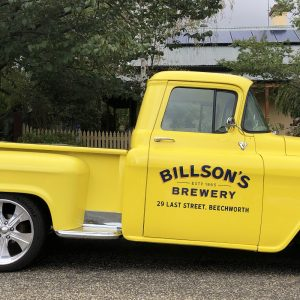 bilsons-brewery-yellow-car