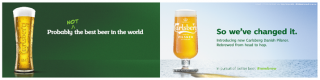 Carlsberg changes recipe and style
