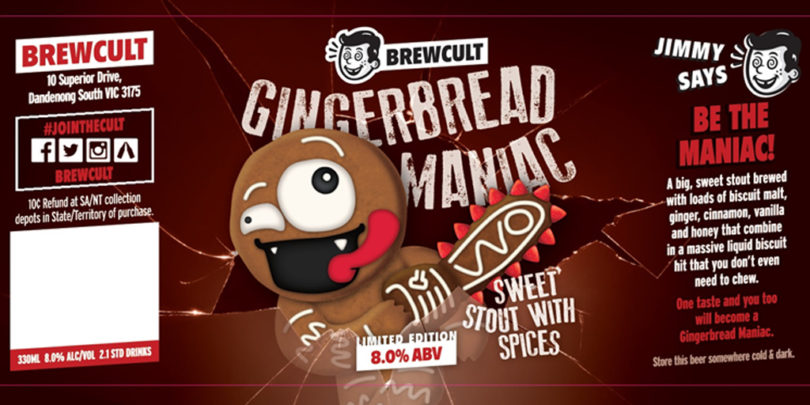 Brecult Gingerbread Maniac