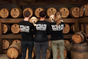 Willie Smith staff with pups color