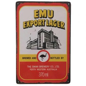 Emu Export sign