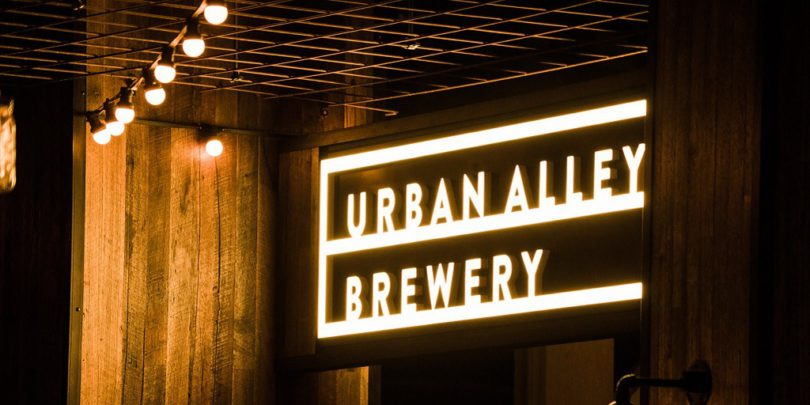 Urban Alley Brewery Melbourne Docklands