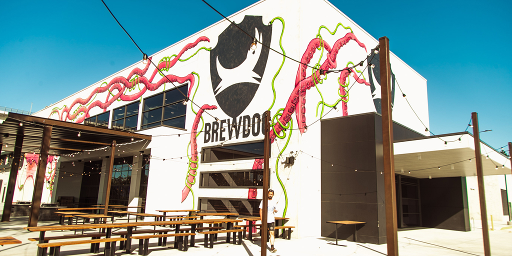 BrewDog Brisbane outside