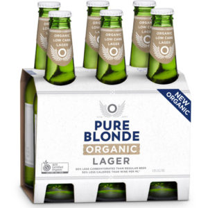 Pure Blonde Organic Lager 6 pack