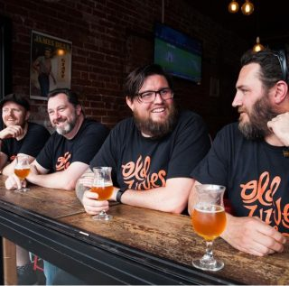 Old Wives Ale founders