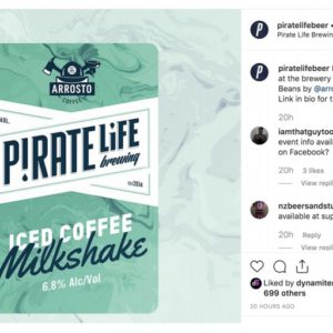 Pirate Life Iced Coffee Milkshake