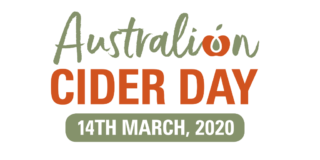 Cider Australia has announced Cider Day for 14 March 2020crop