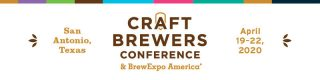 Craft Brewers Conference header with event dates included