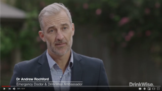 Andrew Rochford DrinkWise campaign