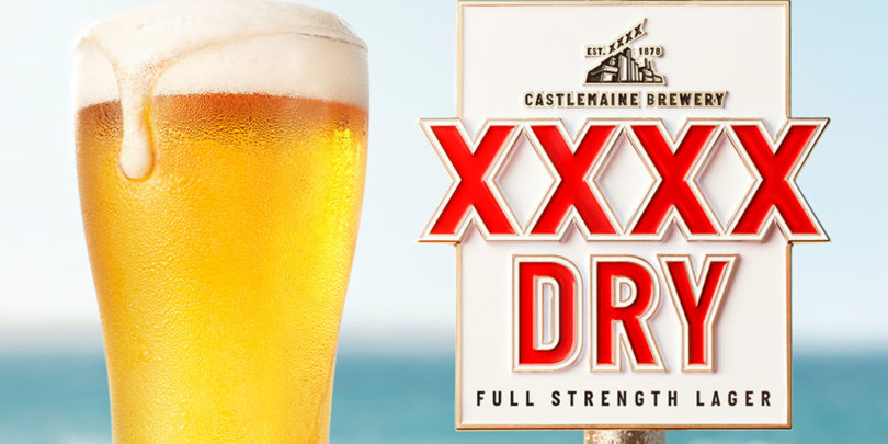 XXXX launches dry beer