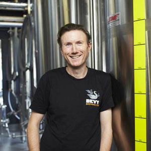 Bevy Head Brewer Andy Scade