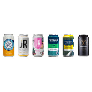 Selection of Beach Box beers