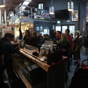 Inside photo of Altitude Brewing in Queenstown
