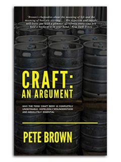 Pete Brown's new book, Crafting an Argument