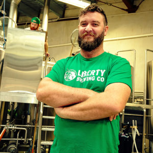 Liberty Brewing's Joe Wood