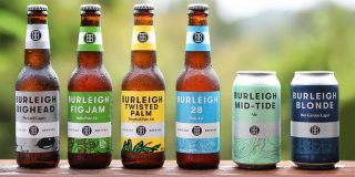 Burleigh Brewing Bottles and cans